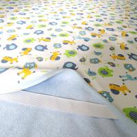1.8米*2米婴儿隔尿垫防水纯棉超大可洗透气双面新生儿童尿垫