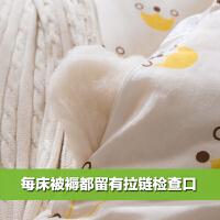 定做手工纯棉花被子被芯儿童学生幼儿园婴儿秋冬季小棉被宝宝盖被