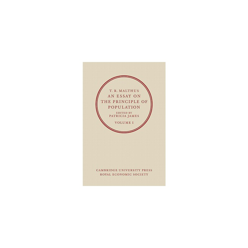 【预订】T. R. Malthus, an Essay on the Principle of Population: Volume 2 预订商品,需要1-3个月发货,非质量问题不接受退换货。