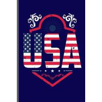【预订】USA: USA Independence Day notebooks gift (6x9) Lined no