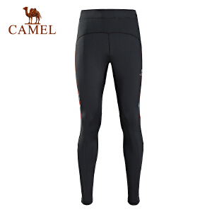 camel骆驼户外男款运动裤 弹力跑步运动裤男款