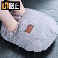 暖脚宝床上睡觉用充电加热暖脚垫电暖鞋女热水袋保暖鞋暖脚器暖足