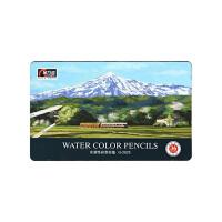 金万年(Genvana) 套装色彩色铅笔 彩铅 涂头铅笔 水性铅笔 水溶性铅笔 油性铅笔