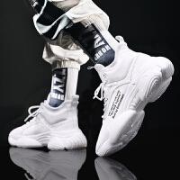 男鞋春季百搭运动休闲透气小白鞋