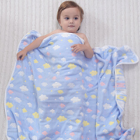 婴儿毛巾被子宝宝盖毯抱被吸水毛巾儿童空调被婴儿浴巾棉纱布洗澡毛巾