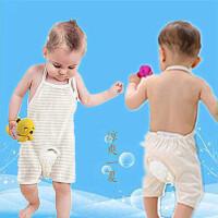 男女宝宝肚兜夏季薄款0-6护肚兜兜衣1连腿2婴儿夏装3个月岁半