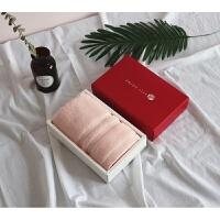棉毛巾1条单条礼盒装结婚生日回礼会员礼品伴手礼定制k 74x34cm