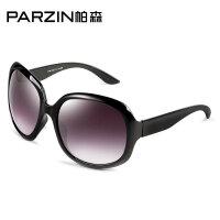 帕森太阳镜 女士 时尚太阳眼镜 新款明星大框蛤蟆镜墨镜6101