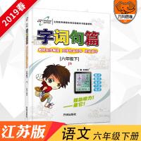 2019官方正版字词句篇六年级下册江苏版JS版