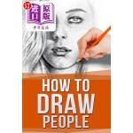 【中商海外直订】How to Draw People: Drawing for Beginners: The Easy