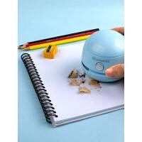 桌面清洁吸橡皮擦渣灰小型键盘电动自动吸尘器清理铅笔屑无线清洁器清理笔灰纸屑家用学习美术用品