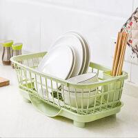 水槽置物架厨房用品碗盘沥水架塑料放碗架子碗筷碗碟架碗架