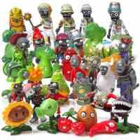 飞客动漫 植物大战僵尸玩具2 公仔摆件 创意手办礼物 全套40款