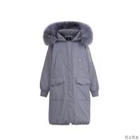 大口袋毛领外套女2018新款冬装韩版宽松中长款百搭棉衣