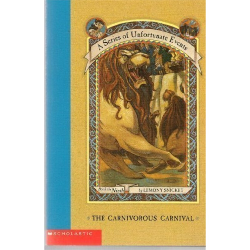 A Series of Unfortunate Events 9 - The Carnivorous Carnival( 货号:043955488)