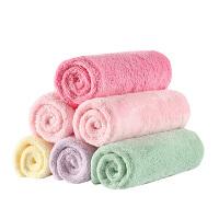 婴儿口水巾棉纱布柔软儿童手帕婴儿毛巾宝宝洗脸小方巾