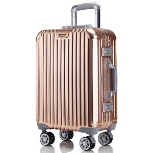 【支持礼品卡支付】20寸 OSDY铝镁合金铝框加厚箱 U135 可登机 人士必备拉杆箱登机箱行李箱托运箱限量20只私人订制铝镁合金箱体