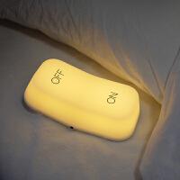 重力感应开关灯智能节能led充电卧室床头触摸创意喂奶小夜灯