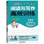 新课标 小学生语文阅读与写作高效训练 六年级 最新版