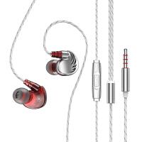 魅族16th耳机重低音note9 6 5入耳式ep2x手机x8挂耳运动通用ep51耳塞16x pro7s6m15 5s