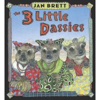The 3 Little Dassies三朵小雏菊(Jan Brett绘本)ISBN9780399254994