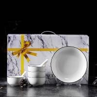 陶瓷餐具礼品青花瓷碗套装餐具碗碟碗筷盘勺礼盒装餐具