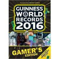[现货]英文原版 Guinness World Records Gamer's Edition 2016