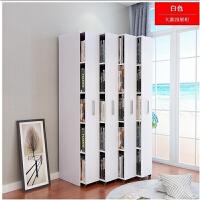 简约现代组合抽屉式移动抽拉隐藏书柜小型书柜实木木质书架定制