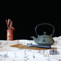 日本南部生铁壶茶具烧水煮茶老铁壶茶壶茶具铁壶铸铁茶壶功夫茶铸铁壶无涂层 铁茶壶