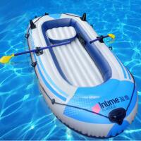 盈泰 加厚充气船冲锋舟加厚充气船橡皮艇钓鱼船