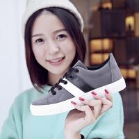 学生平底鞋平跟板鞋球鞋秋冬新款低帮小白鞋女运动休闲鞋韩版