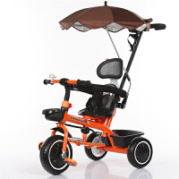 儿童三轮车宝宝手推车1-3-5岁幼童三轮车脚踏车自行单车大号童车YW157
