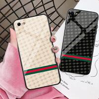 苹果6手机壳潮牌iphone6splus玻璃壳ins同款i6六新品欧美散热防摔全包边软硅胶个性创意IP6s超薄
