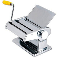 家用不锈钢手动压面机压面器 二刀面条机粉条机饺子皮机打面机器EM001