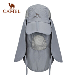 骆驼户外中性全防护棒球帽 男女旅游野营遮阳棒球帽