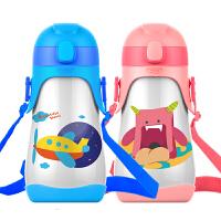 时尚可爱飞行帽儿童保温杯 儿童水杯 儿童茶杯儿童吸管杯