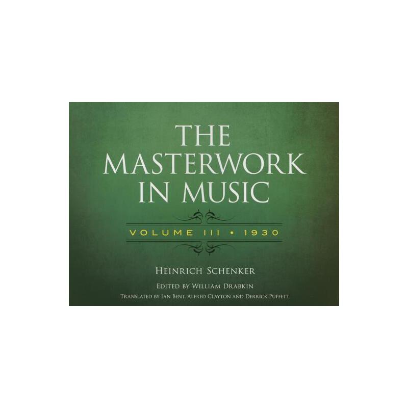 【预订】The Masterwork in Music, 1930 预订商品,需要1-3个月发货,非质量问题不接受退换货。