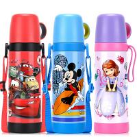 儿童保温杯不锈钢中小学生水杯儿童保温杯子便携两用水壶