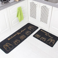 厨房地垫脚垫门垫进门长条浴室防滑吸水垫门厅卫生间地垫 40*60+40*120CM