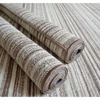 日式素色北欧客厅茶几沙发大地毯地垫简约现代中式卧室床边毯定制k 渐变条纹