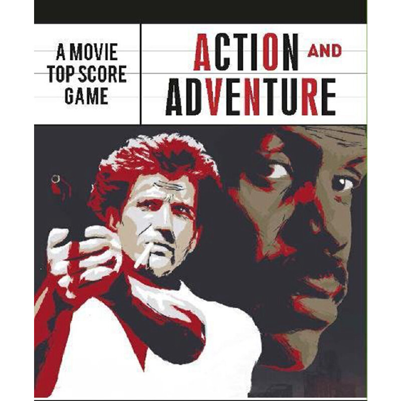 Action and Adventure: Movie Trump Cards 动作与冒险 礼品文具