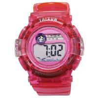 儿童电子手表男童小孩小学生5-6岁防水果冻可爱女孩女童手表