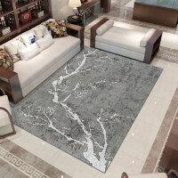 新中式客厅地毯中国风卧室沙发茶几垫现代简约书房家用满铺可定制k