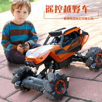 四驱高速攀爬充电超大无线遥控越野车3-5-6岁飘逸车男孩玩具车模8