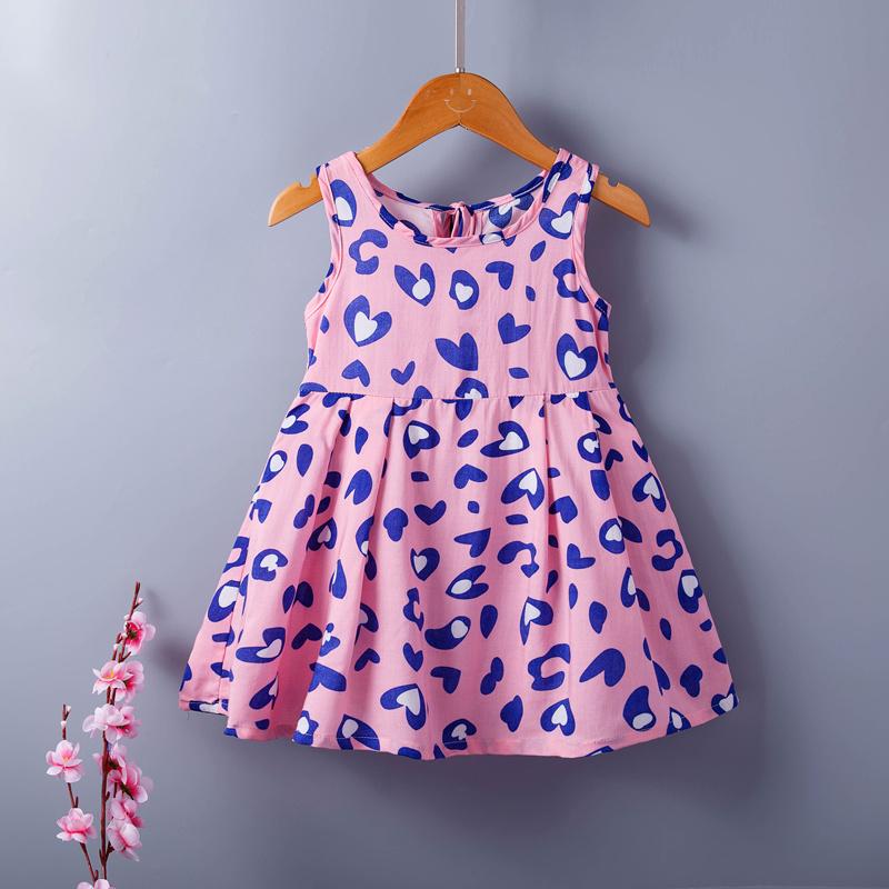 童装连衣裙儿童裙子碎花纯棉连衣裙