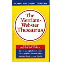 【旧书二手书8成新】韦氏 The Merriam-webster Thesaurus 9780877798507 图书