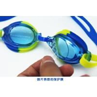 男女儿童通用游泳镜 高清平光防水游泳眼镜防水潜水泳镜 耳塞