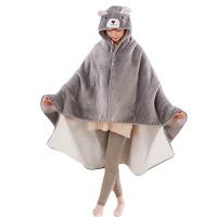 滑稽披风 卡通二次元披风F团动漫cos斗篷学生午睡空调毛绒毯子披肩