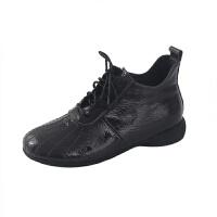 女式皮靴秋冬新款魅力成熟女人靴短绒毛保暖圆头纯色女靴厂家批发