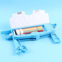 笔盒儿童男孩笔袋创意小学生文具盒变形金刚塑料铅笔盒